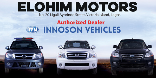 NOW OPEN: Innoson Authorized Dealer Showroom in Lagos!