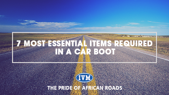 7 MOST ESSENTIAL ITEMS REQUIRED IN A CAR BOOT