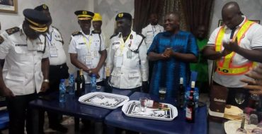 Road Traffic Officers Induct Innoson Vehicles Chairman, Say Vehicles Are 'Reliable'