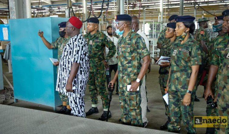 Nigeria Army School Of Supply & Transport Pays Educational Visit To Innoson (IVM)
